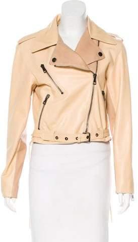 Chloé Leather Moto Jacket