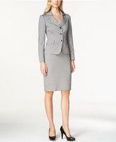 Le Suit Shawl Collar Skirt Suit