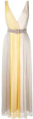 We Are Kindred Marrakech panelled maxi dress