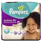 Pampers Active Fit Size 6 (Extra Large) Essential Pack 31 Nappies - Pack of 2