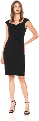 Badgley Mischka Women's Tie Front Sheath