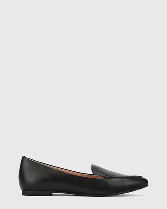 Wittner - Women's Black Loafers - Packham Pointed Toe Loafers - Size One Size, 39 at The Iconic