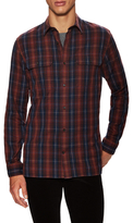 Vince Cotton Military Plaid Sportshirt
