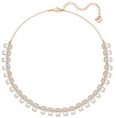 Swarovski Gallery Square Crystal Collar Necklace