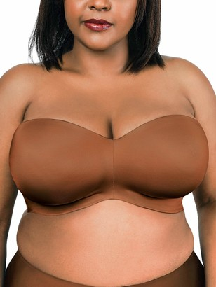 Couture Women's Plus Size Smooth Strapless