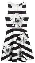 Hannah Banana Sunflower Glitz Dress