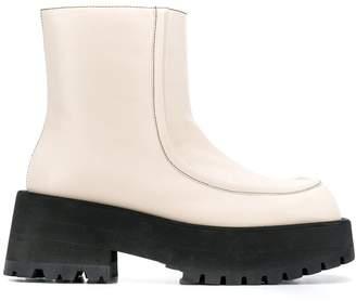 Marni chunky platform ankle boots