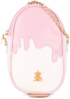 Xavem Kids - strawberry ice-cream shoulder bag - kids - Leather - One Size