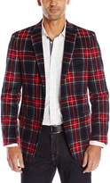 U.S. Polo Assn. Men's Plaid Cotton Blazer