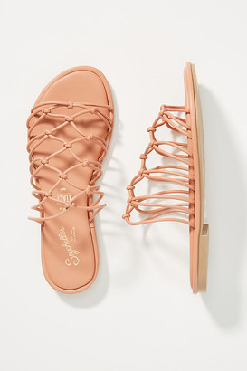 Seychelles Knotted Sandals By in Orange Size 6.5