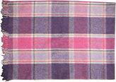 One Kings Lane Vintage Cotton Plaid Blanket