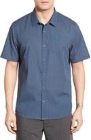 Travis Mathew Stripe Cotton Jersey Sport Shirt