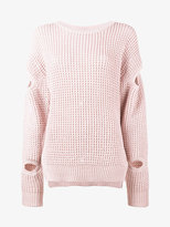 Preen by Thornton Bregazzi waffle knit jumper