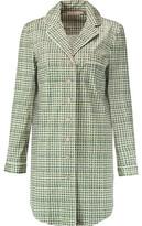 Tory Burch Mireille Printed Stretch-Cotton Pajama Shirt