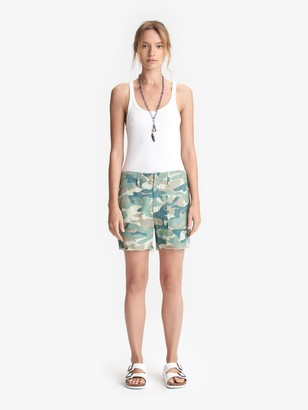 Mother The Shaker Chop Short - Blue Green Camo