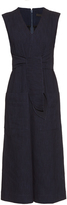 Tibi Tie-front wide-leg jumpsuit