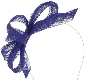 Collection Sinamay Bow Fascinator - Cobalt