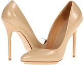L.A.M.B. Harlie (Beige Leather) - Footwear