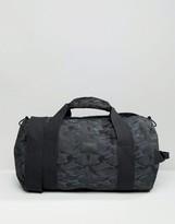 Asos Barrel Bag In Blue Camo Design