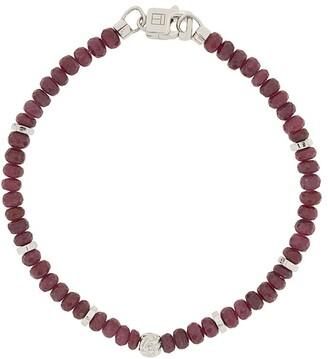 Tateossian Nodo ruby bracelet