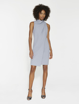 Halston Draped Neck Dress