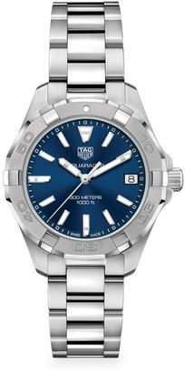 Tag Heuer Aquaracer 32MM Stainless Steel Quartz Bracelet Watch