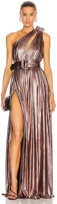 retrofete Andrea Maxi Dress in Rose Gold | FWRD