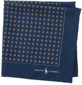 Polo Ralph Lauren Neat Silk Twill Pocket Square