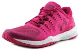 Under Armour Charged Stunner Tr Women Round Toe Synthetic Pink Running Shoe.