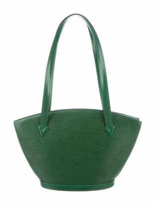 Louis Vuitton Epi Saint Jacques Shopping PM Green