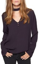 Sanctuary Women's Raven Choker Top