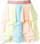 Manoush pleated skirt - women - Cotton/Polyester/Polyurethane - 36