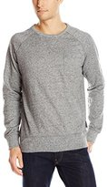 French Connection Men's Big Sur Pocket Crew Neck Long Sleeve Sweatshirt