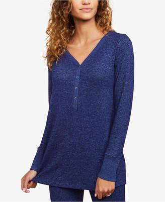 Motherhood Maternity Henley Pajama Top