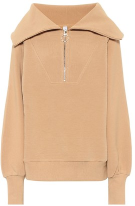 Varley Vine stretch-cotton sweatshirt
