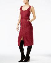 GUESS Olivia Faux-Suede Apron Dress