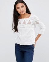 Pepe Jeans Dolina Embroidered Blouse