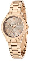 Pepe Jeans Katy Women's Quartz Watch with Beige Dial Analogue Display and Rose Gold Stainless Steel Strap R2353114503