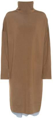 Tibi Merino wool and cotton shirt dress