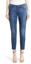 Burberry Women's Arno Moto Skinny Jeans