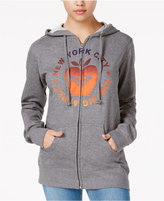 Roxy Juniors' The NYC Apple Graphic Zip Hoodie