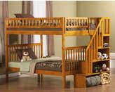 Atlantic Furniture Woodland Full over Full Bunk Bed