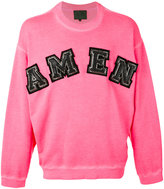 Amen logo sweatshirt - men - Cotton - 48