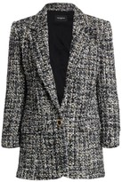 The Kooples Tweed Veste Jacket