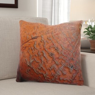 Rochford The Holiday Aisle Pumpkin Indoor/Outdoor Throw Pillow The Holiday Aisle