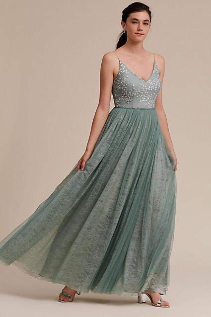 Anthropologie Cluny Wedding Guest Dress