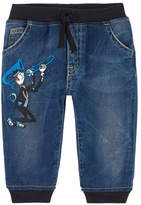 Dolce & Gabbana Boy regular fit jeans with embroideries