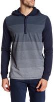 Howe Wanted Striped Hooded Henley