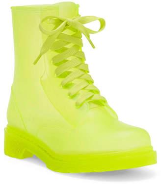 Jessica Simpson Rikie Translucent Rain Boots Women Shoes