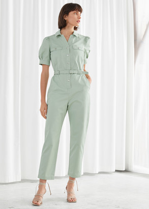 And other stories Organic Cotton Twill Jumpsuit